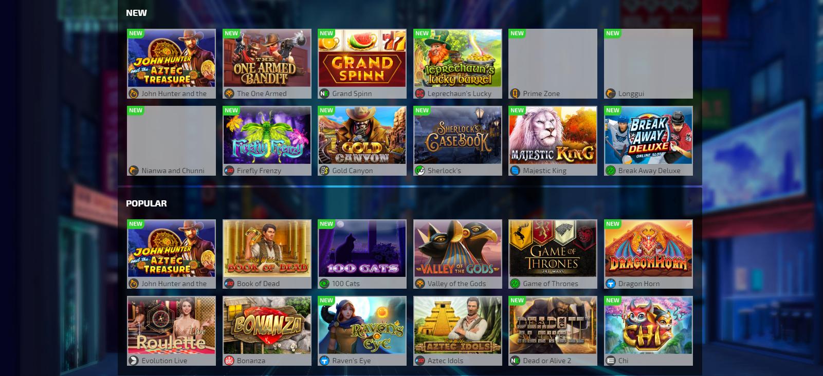 Игры в иви казино