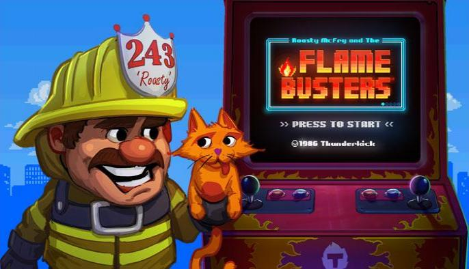Обзор игрового автомата Flame busters (Разрушители пламени): Thunderkick