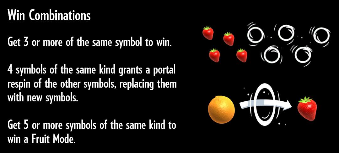 Бонусные функции игрового автомата Fruit warp