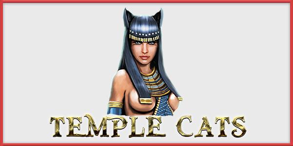 Обзор игрового автомата Temple Cats (Храмовые кошки): Endorphina