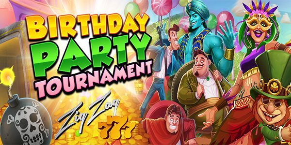 Праздничный турнир ZigZag777's Birthday Party в казино ZigZag 777