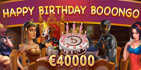 Крупномасштабная денежная акция Happy Birthday Booongo