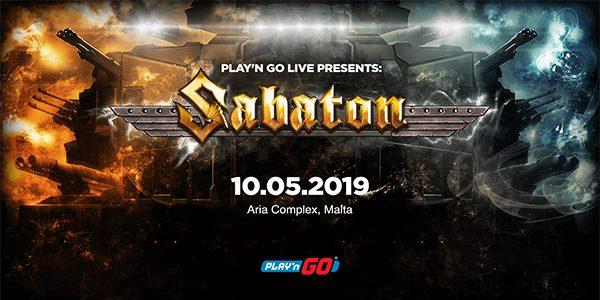 Игровой провайдер Play'n Go выпустил новый слот для рок группы SABATON