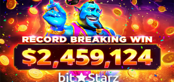 В ВitStarz новые рекорды: игрок выиграл 2,4 млн. $ в слоте Azrabah Wishes