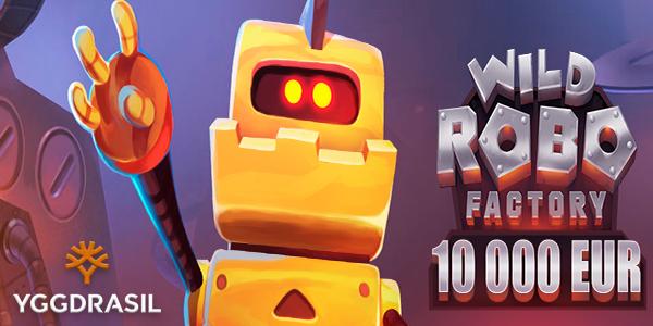 Денежная акция Wild Robo Factory Campaign от Yggdrasil