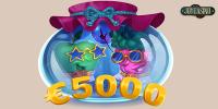 Денежный турнир Push-ка в Joy Casino с призовым фондом 5000 тысяч евро
