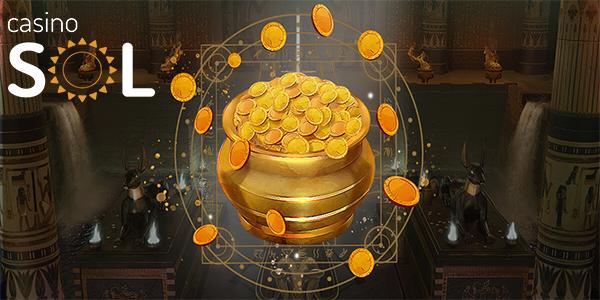 Денежный бонус без депозита в SOL Casino
