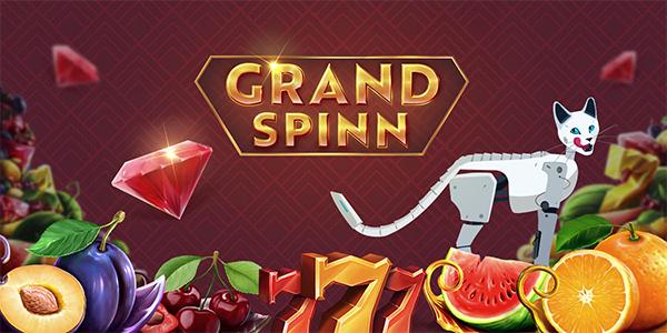 Забирай 105 фриспинов в слоте Grand Spinn от Mr Bit Casino