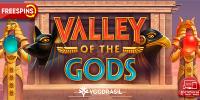 фриспины в слоте Valley Of The Gods от казино Sol