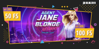 Получи до 100 фриспинов в слоте Jane Blonde Returns от Booi казино
