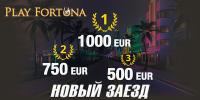 Денежный турнир «Новый заезд» в казино Плейфортуна