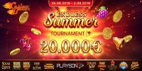 Денежный турнир Endless Summer от провайдера Playson
