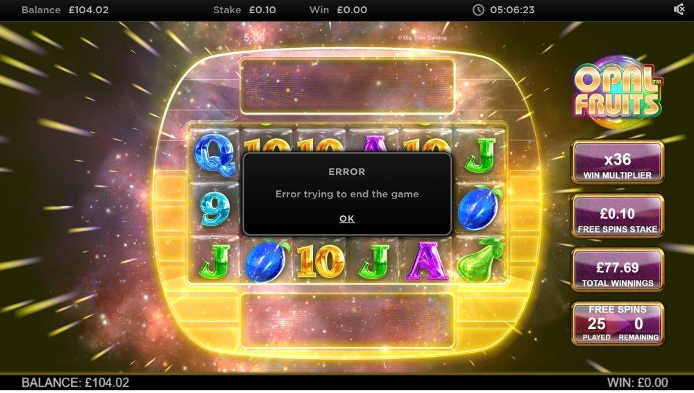 Игрок казино получил пять разных результатов из-за ошибки бонусного раунда