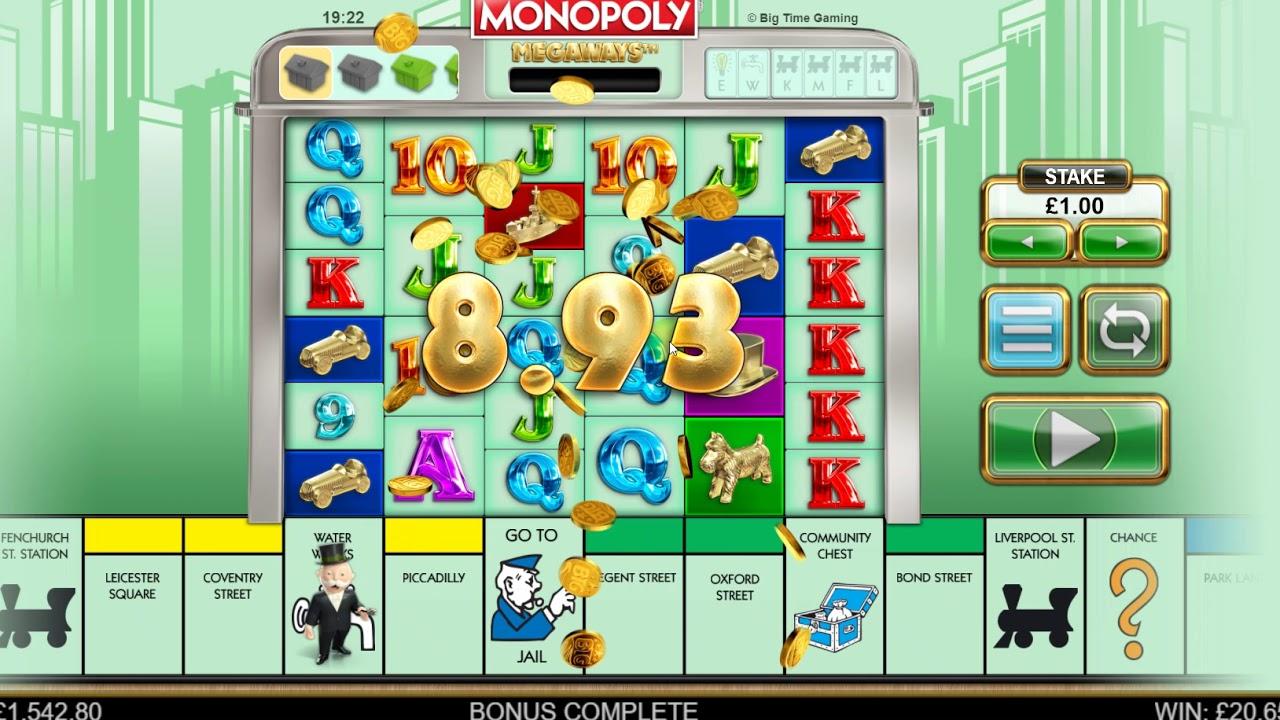 Краткая информация по релизу игры Monopoly Megaways от BTG