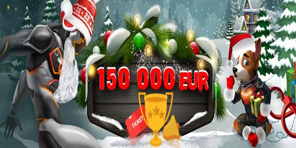 Денежные акции на Новый Год в казино SlotV